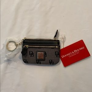 Dooney & Bourke signature small coin purse